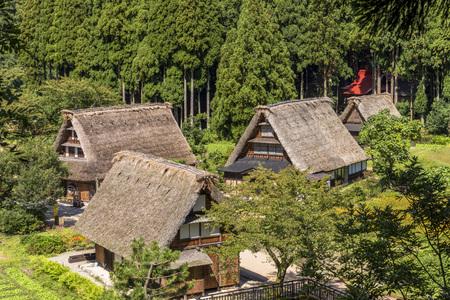 Gokayama Gassho village Redactioneel