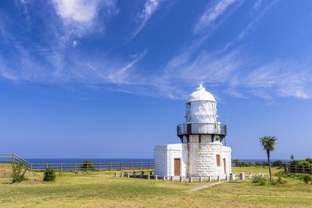 Noto Peninsula lighthouse Stok Fotoğraf