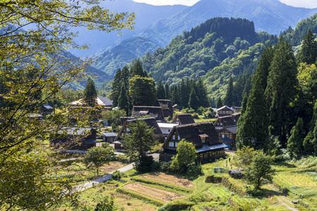 Gokayama Gassho-zukuri village