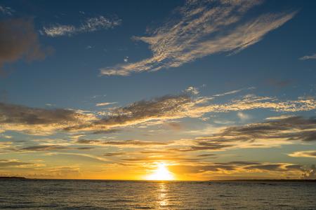 Sesoko island sunset