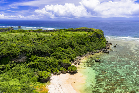 Okinawa beautiful coral sea 版權商用圖片 - 110629083
