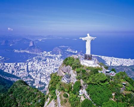 Luftbild der Christusstatue