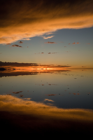 Bolivia Uyuni Salt Lake 免版税图像