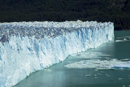 Perito Moreno glacier in Patagonia Stockfoto
