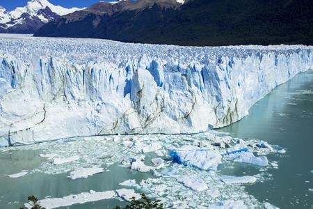 Perito Moreno glacier in Patagonia Фото со стока
