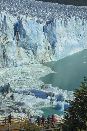 Perito Moreno glacier in Patagonia 스톡 콘텐츠