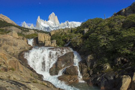 Mount Fitz Roy in the Los Glaciares National Park
