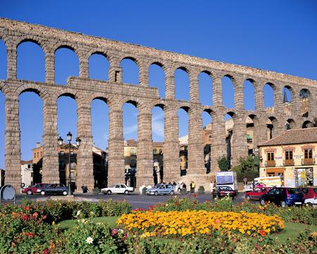 The aqueduct of Segovia Stok Fotoğraf - 110581578