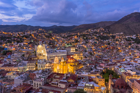 The beautiful city Guanajuato City