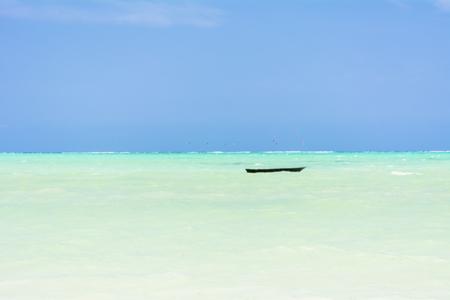 Zanzibar in the Indian Ocean 스톡 콘텐츠