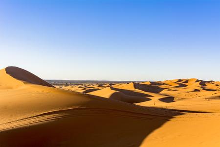 The dry ground, Sahara desert