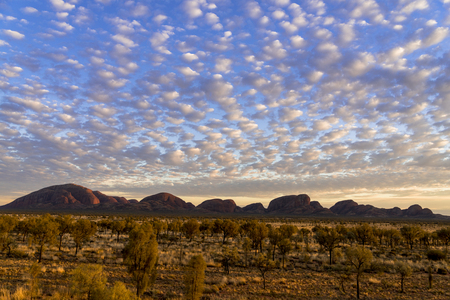 Kata Tjuta National Park sunset