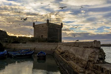 Port city in Morocco-Essaouira