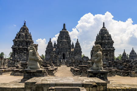 Indonesia, Prambanan temple complex