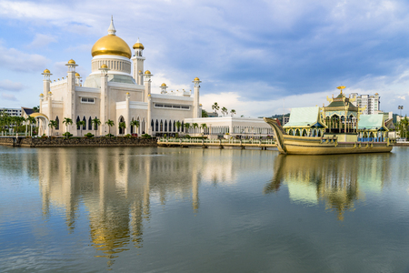 Old mosque in Brunei Stok Fotoğraf - 118420153