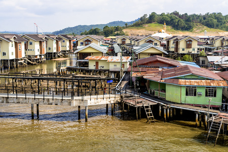 Brunei water village, Kampong IRL