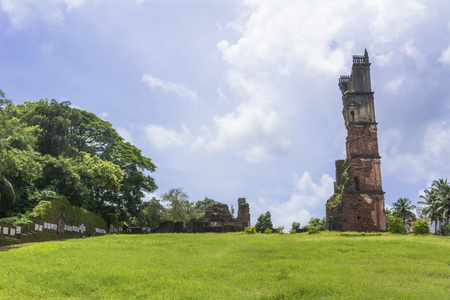 Goa, St. Augustines Abbey ruins