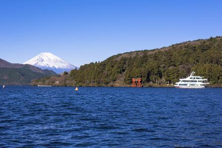 ASHI-Lake and Mt. Fuji