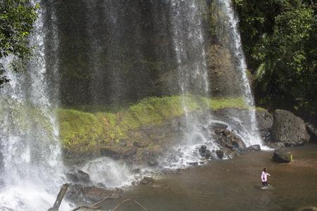 Waterfall of Palau' grace Mao