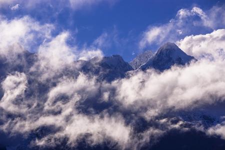Meili Xue Shan mountain in Yunnan province 写真素材