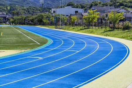 Stadium track in Wajima City