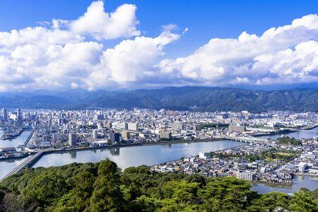 Kochi City from Gotaiyama Park Stok Fotoğraf - 148842901
