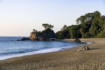 Katsurahama Beach in Kochi 写真素材