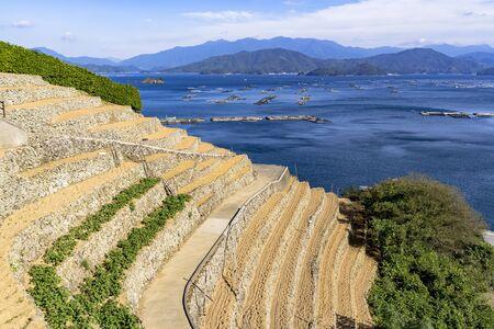 Yusu's thousand rice terrace Stok Fotoğraf - 148957606