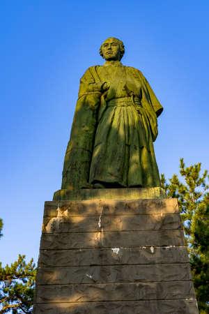 Statue of Ryoma Sakamoto
