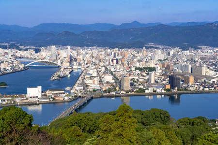 Kochi City from Gotaiyama Park