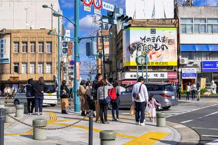Street corner in Onomichi City