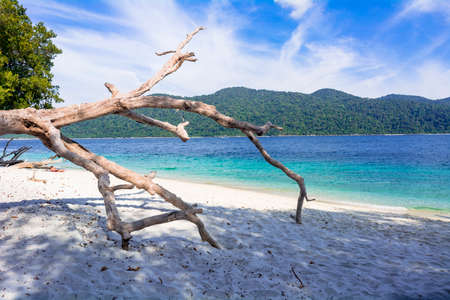 Beautiful sea at Lipe Island Resort 版權商用圖片