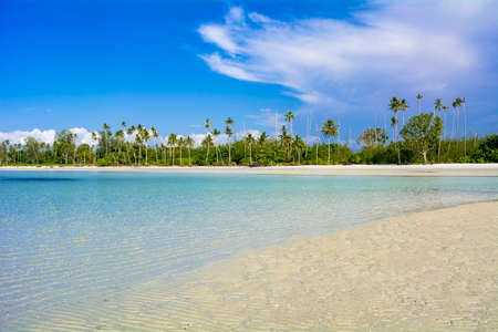 Sea at Lagoi Bay Resort on Bintan Island Stok Fotoğraf