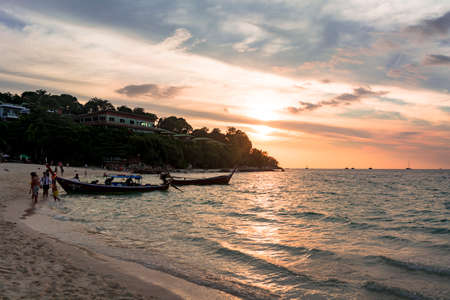 Beautiful evening view of Lipe Island Resort Editöryel