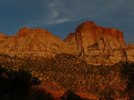 zion: Zion National Park - Utah  Stock Photo