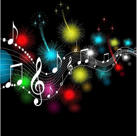 musical notes,vector Vector