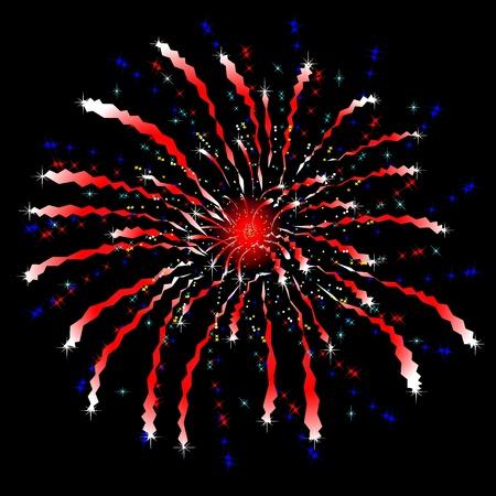 vector firework Stock Vector - 9722127