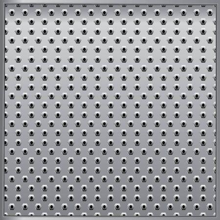 grey metal tecsture Vector
