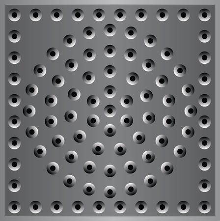 metal plate background texture metal Vector