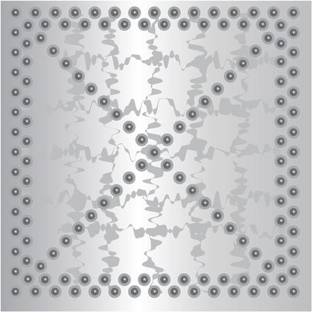 metal plate background Metal texture alumin Illustration