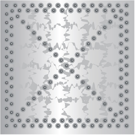 metal plate background Metal texture alumin Illustration