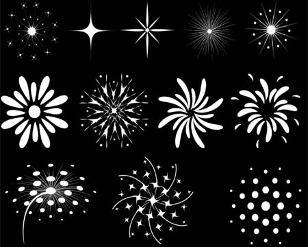 The elements of fireworks for design