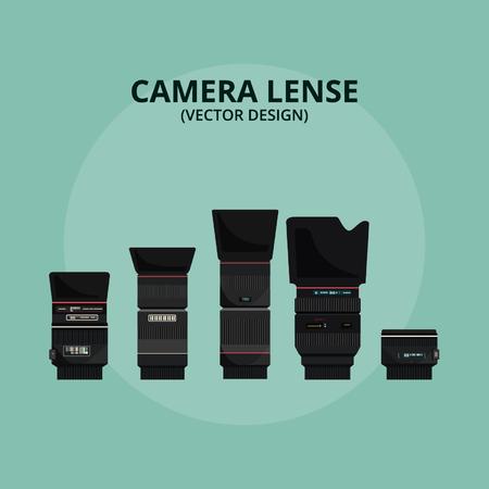 Obiettivo della fotocamera - Disegno vettoriale