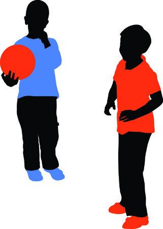 playfield: children play