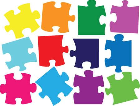 puzzle de couleurs