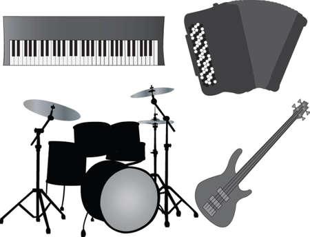 instruments de musique Illustration