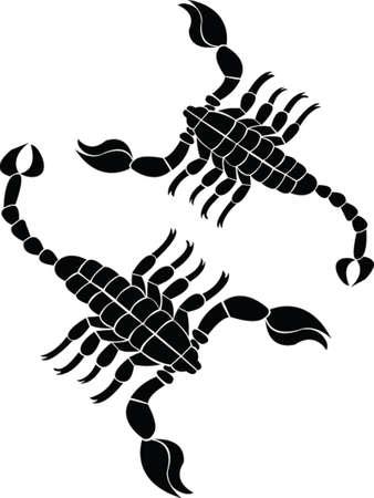 scorpion vecteur