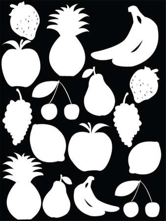 coctel de frutas: frutas