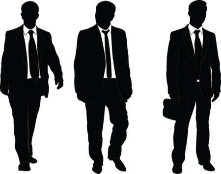 hooligan: Business-Mann - Vektor Illustration