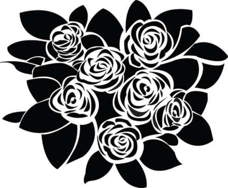 roses - vector Vector